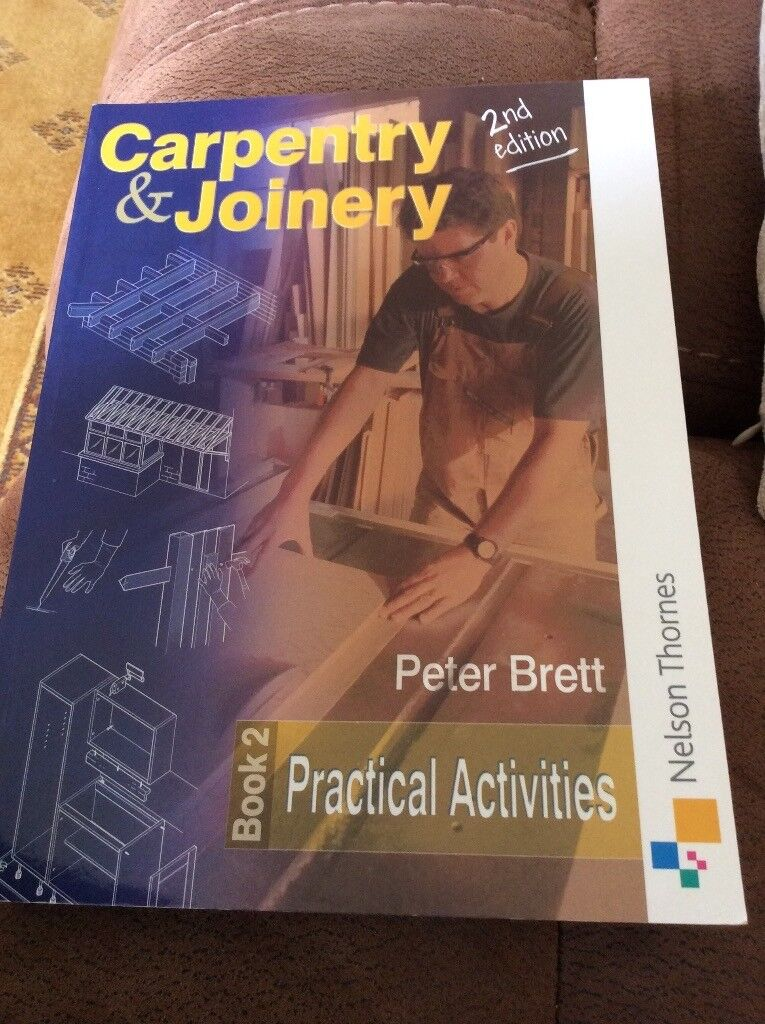 2 x carpentry/ joinery study books part 1&2