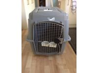 Airline standard large sky crate / Indoor kennel