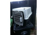 Nearly new medium dog carrier,Cost £70 from Pets At Home,
