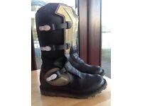 Diadora motocross / motorcycle boots