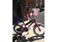 Girls bike suit 3-5years. Vgc