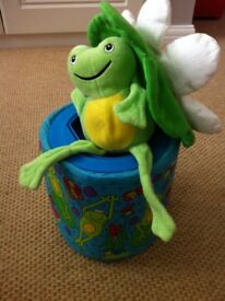 Galt Frog in a Box - great condition