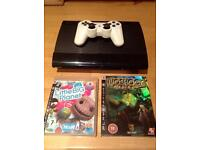 Ps3 super slim 500g and games