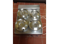 For Sale: Commercial BanMarie with 3 Pans