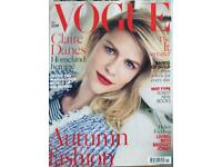 British VOGUE magazines 2013 collection