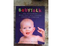 BabyTalk baby communication book £1 HAROLD HILL