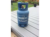Empty Butane calor gas bottle
