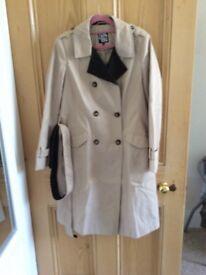 Debenhams collection raincoat size 12