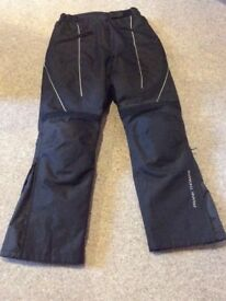 Ladies Frank Thomas motorbike trousers