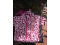Jo jo Maman Bebe Ditsy Floral Jacket 12-18 months
