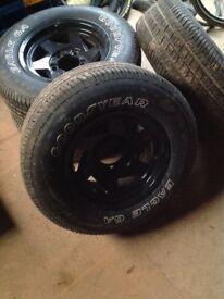 Suzuki jimny alloy wheels