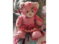 SPRING BUILD A BEAR WITH OUTFIT