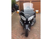 1800 Goldwing trike, very low mileage, excellent condition, all usual Goldwing luxuries
