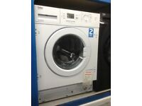 Beko intergrated washing machine. 7kg 1500spin. £269. New/graded 12 month Gtee