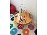 JOY-TOY WOODEN BEADS TABLE