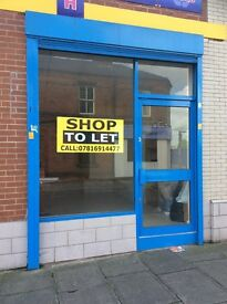 Shop to Let Close to Derby City center on Aria