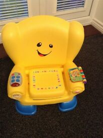 Fisher price laugh and learn musical chair