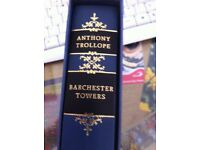 3 Books by Anthony Trollope from the Folio Society