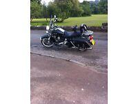 Harley Davidson Road King Classic FLHRC - Rushmore series