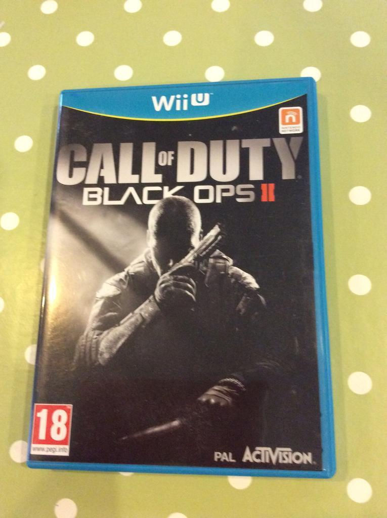 Call of Duty Black Ops 2 wii u