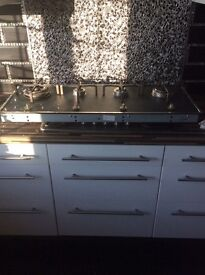 Gas hob cooker for sale. £20