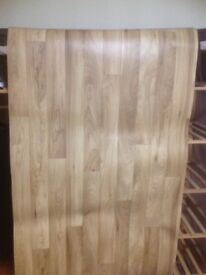 Lino for sale with wood effect