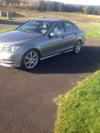 Merc class AMG line Sat Nav great condition no offers