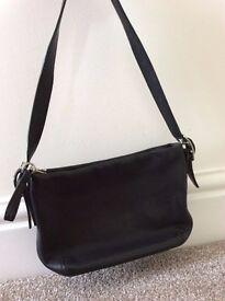 Coach Designer - Small Black Leather - Shoulder bag