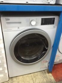 Beko white 8/5kg washer dryer. £349 new/graded 12 month Gtee
