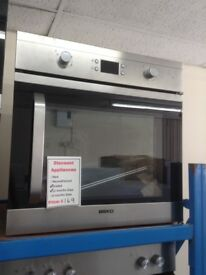 Beko intergrated single fan oven. 60cm. £169. New/graded 12 month Gtee