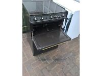 black hot point gas cooker 60cm...Cheap Free delivery