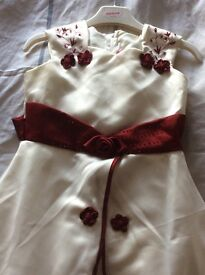 Bridesmaid dresses age 2-3 and 11-12
