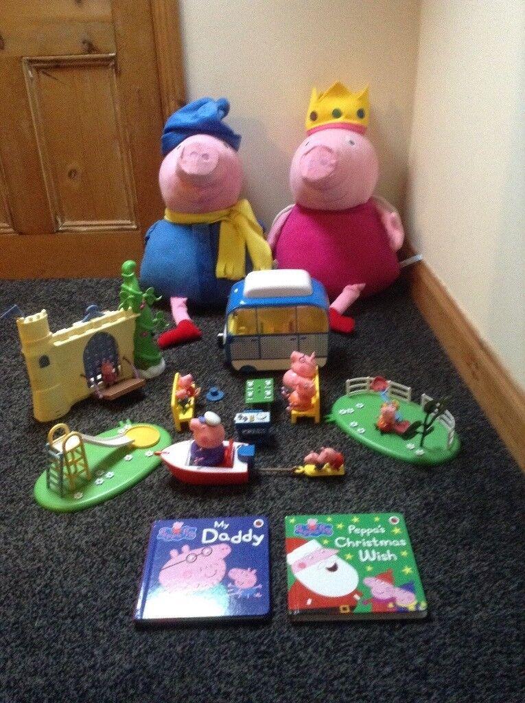 Large Peppa pig toy bundle