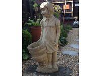 Heavy Girl Statue Lovely Detail