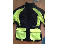 Motorbike Fluorescent Jacket Mens