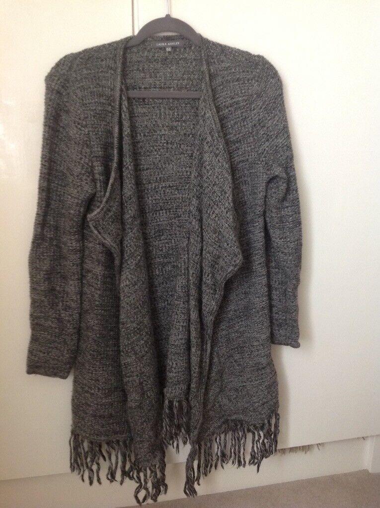 Grey Laura Ashley cardigan/jacket