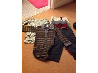 9-12 months tops and trousers