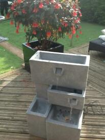 Higgeldy troughs water feature/planter
