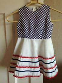 1973-75 VINTAGE BEAUTIFUL LITTLE COAT & DRESS (age 2-3 )