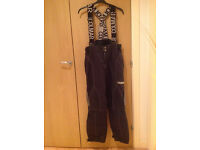 Colmar sky pants Black Techno logic supermecpor Made in Italy