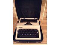 Erika manual typewriter