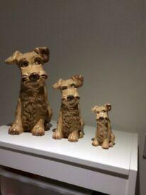 Sylvac dogs - three sizes