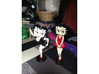 Betty Boop figurines.