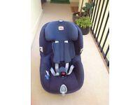 Britax trifix car seat blue