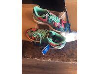 Kids adidas flux trainers BNIB size 13 receipt etc