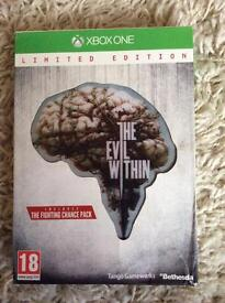 Evil within limited edition for Xbox one