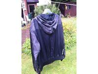 Henleys grey shell hoodie.