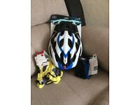 Cycling Helmet, gloves & socks