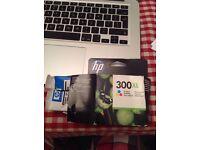 HP 300XL Colour cartridge opened packaging but cartridge unused