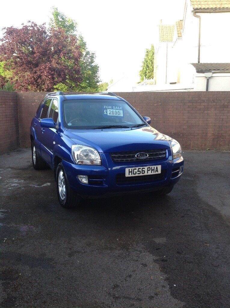 Kia Sportage xs 2.0 Diesel 4x4 ,new clutch fitted